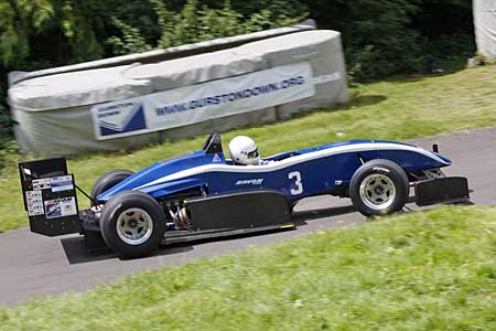 Trvor Willis, British Hillclimb Champion 2012, OMS, Gurston Down
