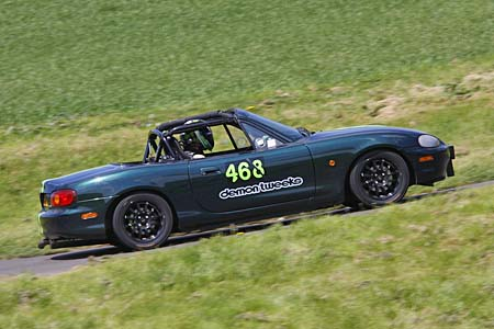 Paul Webster,Mazda MX5, Gurston Down