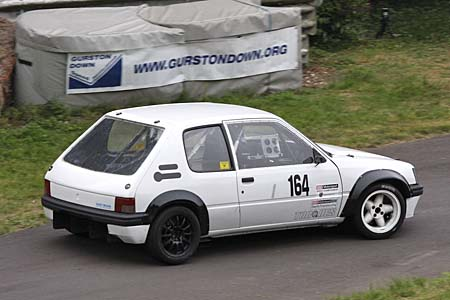 Colin Satchell, Peugeot 205 GTi, HSA, Gurston Down