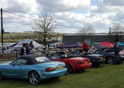 MX5 Owners Club at Gurston Down