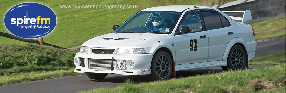 Simon Neve, third overall in the 2015 Meadens Skoda Gurston Down Hillclimb Championship